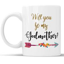 Will You Be My Godparent Invitation Card Amazon Com Will You Be My Godmother Coffee Mug New Godmother