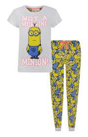 primark pyjamaset not a morning minion primark wishlist