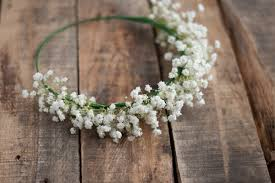 babys breath baby s breath crown this heart of mine