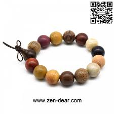jewelry beads bracelet images Zen dear unisex natural colorful wood buddhist prayer beads jpg