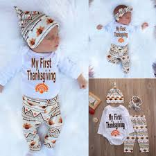 newborn thanksgiving baby boys t shirt tops