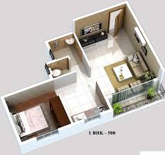 500 sq ft 1 bhk 1t apartment for sale in sg group mumbai sky town