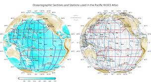 Ocean Currents Map Woce Atlas Volume 2 Pacific Ocean