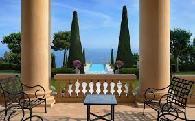 legendary mansion on the french riviera with neo palladian style