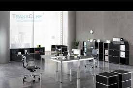 Stainless Steel Office Desk Stainless Steel Office Desk Mdf Top Table China Mainland Glass