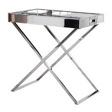 Mirrored Coffee Table Tray by Houseology Collection Mirror Tray Table Houseology