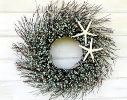 decor wreath coastal wreath fish
