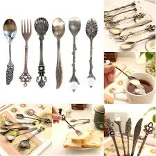 Cafe Kitchen Decor by Compare Prices On Gold Mini Spoon Online Shopping Buy Low Price
