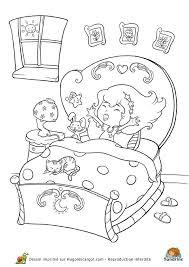 coloriage de chambre de fille coloriage princesse chambre sur hugolescargot com