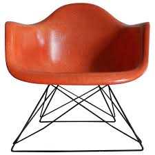 1950s eames lar cats cradle fiberglass chair modern lounge and