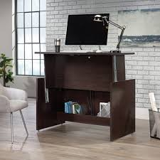 Sit And Stand Computer Desk by Sauder Select Sit Stand Desk 422358 Sauder