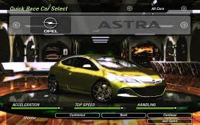 opel astra opc 2015 need for speed underground 2 opel astra opc nfscars