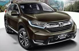 New Honda Crv Colors 2018