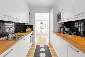 popular narrow and long kitchen designs my home design journey