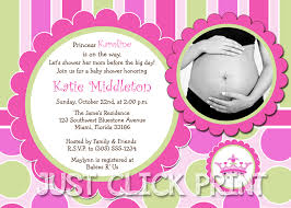 baby girl baby shower invitations princess baby girl shower invitation printable just click