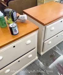 Office Desk With File Cabinet 2 File Cabinets Barn Door Office Desk Hometalk
