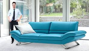 Teal Blue Leather Sofa Teal Leather Sofas Russcarnahan