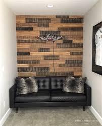 reclaimed wood wall in boy s bedroom design studio