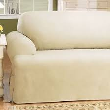 3 Piece T Cushion Sofa Slipcover by Sure Fit Cotton Duck T Cushion Sofa Slipcover U0026 Reviews Wayfair