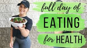 what i eat in a day health gains ep 1 day of intuitive