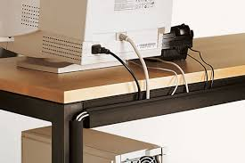 organize cords on desk how to organize cords for the home office messy cords solutions