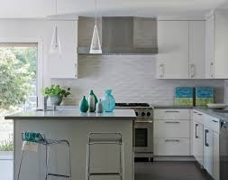 backsplash tiles kitchen kitchen inspiring modern white kitchen decoration using white 3d