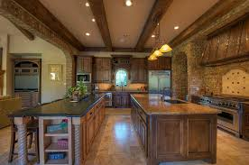 solid wood kitchen furniture double island kitchen furniture quality knotty alder stained