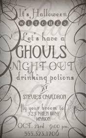 Halloween Invite Poems It U0027s Halloween Witches Girls