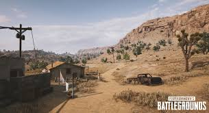 pubg new update pubg s latest test build reveals a draft of the new desert map