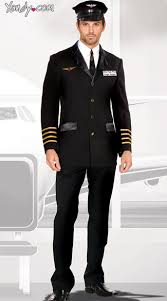 Ship Captain Halloween Costume Pilot Captain Costume Pilot Captain Costume