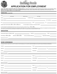 burger king application online job employment form burger king job