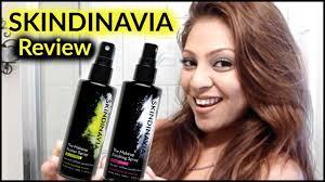 skindinavia oil control makeup finishing spray and primer spray