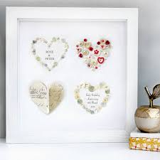 ruby gifts personalised ruby anniversary gift by sweet dimple
