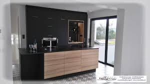 cuisine noir mat et bois cuisine noir mat et bois indogate cuisine noir mat et bois modle
