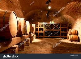 wine barrels wine cellar stock photo 95280280 shutterstock