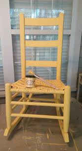 peter lenseth cute painted this little porch rocker turned happy