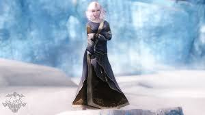 costume wizard robe lind u0027s court wizard robes blue robes texture replacer at skyrim