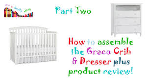 Charleston Convertible Crib by How To Put Together Graco Baby Crib Youtube