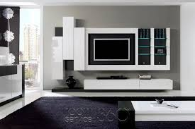 Floating Shelves For Tv by Entertainment Center With Floating Cabinets But With Symmetrical