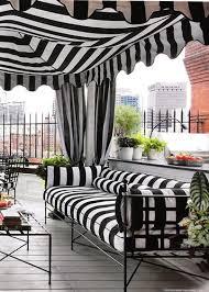 Regal Home And Garden Decor Summer Cabana Black White Stripes Outdoor Bliss Pinterest