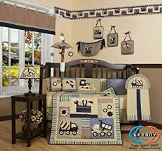 Construction Crib Bedding Set Geenny Boutique 13 Crib Bedding Set Baby Boy