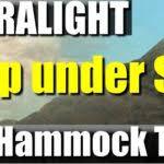 hammock zpacks ultralight backpacking gear cuben fiber hammock