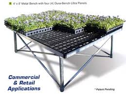 Metal Greenhouse Benches Dura Bench Ultra Plastic Greenhouse Bench Top