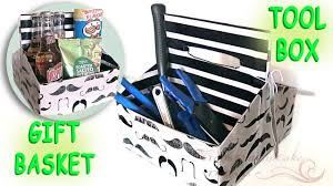 fathers day gift basket last minute diy fathers day gift mustache gift basket tool