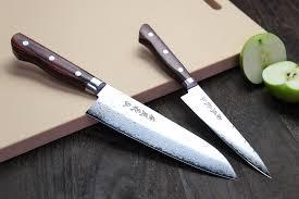 engraved kitchen knives yoshihiro vg 10 16 layer hammered damascus stainless steel santoku