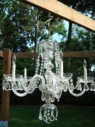 Antique Glass Chandelier Vintage 5 Arm Light Crystal U0026 Glass Chandelier Antique Appraisal