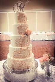 piped vintage lace wedding cake cakecentral com
