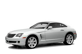 chrysler car white 2004 chrysler crossfire new car test drive