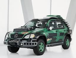 jurassic park car trex ml 3200 mercedes benz allowed the producers of the 1997 film the