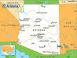 az city map map of arizona cities maps city